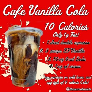 Cafe Vanilla Cola