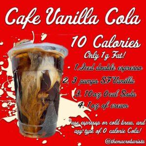 Cafe Vanilla Cola