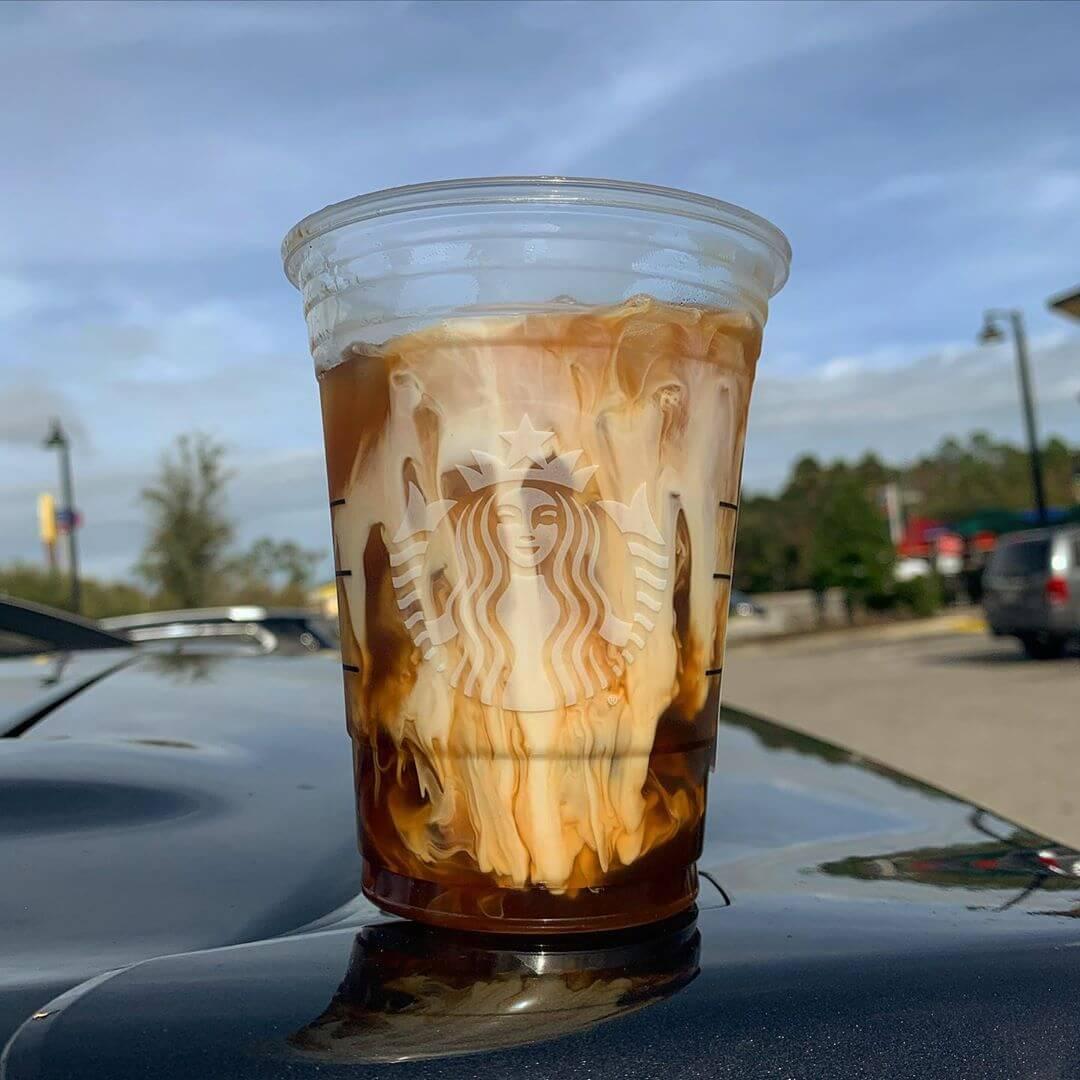 Caramel Caramel Brûlée Latte